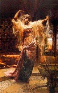 Frederic Wilhelm Richter – Oriental Dancer-frederic-wilhelm